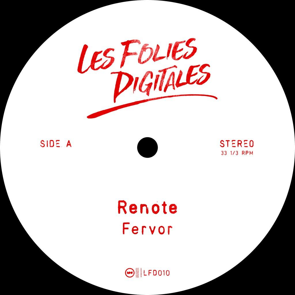 Renote - Fervor  Les-Folies-Digitales LFD010