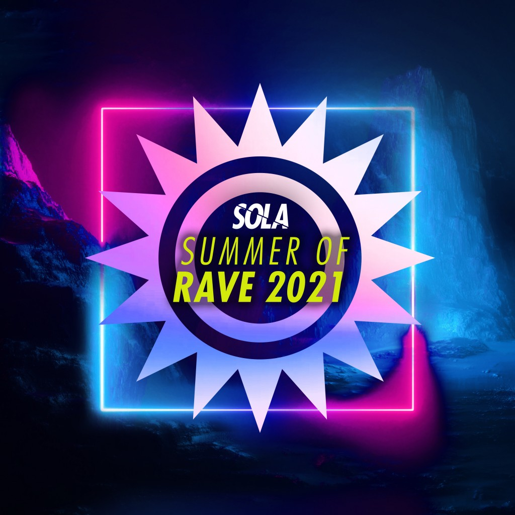 Sola Summer Of Rave artwork