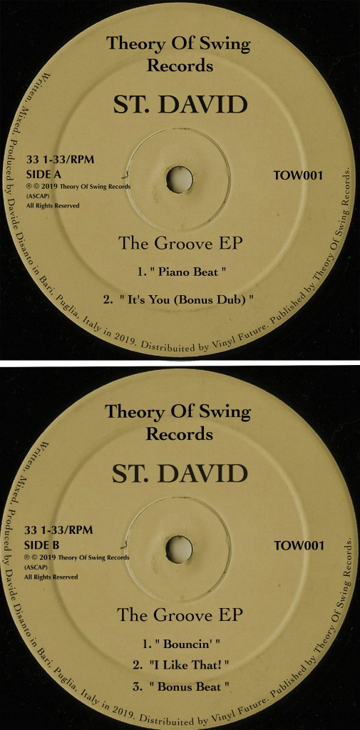 TOW001_Final Artwork_THE GROOVE EP