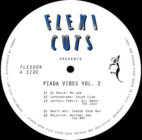 VA - PIADA VIBES vol.2 - Flexi Cuts