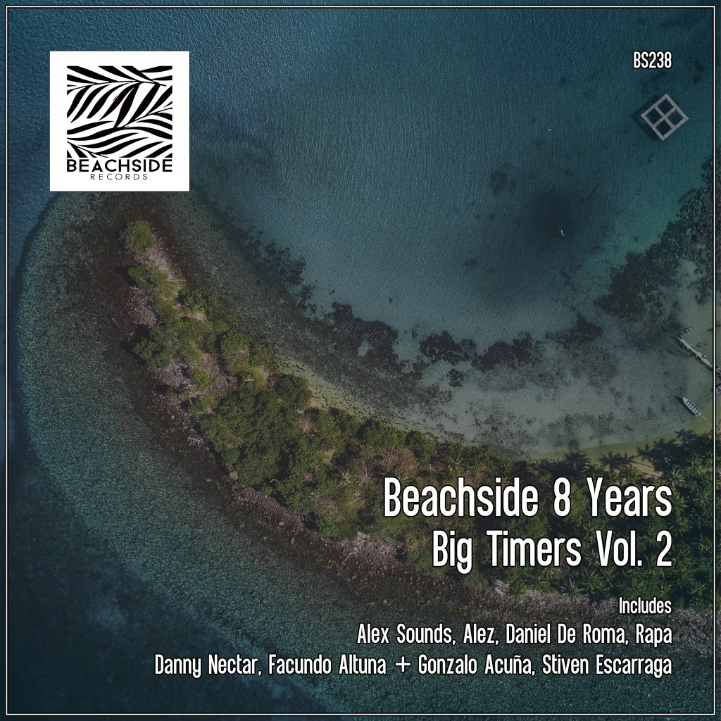 cover Beachside 8 years - Big timers Vol. 2 EP cover